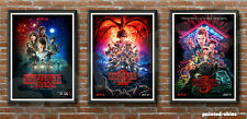 STRANGER THINGS 1 2 3 A4 Poster Print Eleven Dustin Steve Mike Will Lucas Hopper