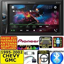 95-02 GM TRUCK/SUV PIONEER TOUCHSCREEN BLUETOOTH USB DOUBLE DIN CAR STEREO RADIO