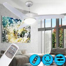 Ventilateur de plafond télécommande éclairage lumière salle de séjour chambre