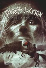 Die letzte Göttin / Percy Jackson Bd.5 von Rick Riordan (2011, Gebundene Ausgab…