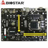 BIOSTAR TB250-BTC LGA 1151 Intel  USB 3.0 DDR4 ATX 6 GPU MINING Motherboard