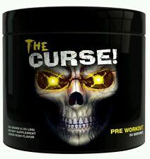 Cobra Labs The Curse Strong Pre-Workout -1 Serving (8g) - Lemon Rush Flavour