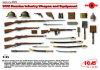 ICM 35672 WWI Russian Infantry Weapon and Equipment,1/35 scale model kit