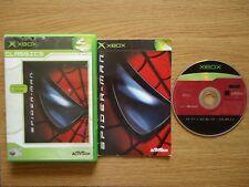 SPIDER-MAN for Xbox (Works on 360) Supernatural/PowersVillains/Spiderman PAL