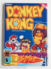 Donkey Kong Cereal Fridge Magnet (2.5 x 3.5 inches) box video game mario bros