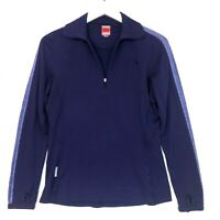 Icebreaker 1/4 zip pullover sweater bodyfit 260 size medium