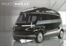 NAMI KAMAZ Project Shatl 2.0 concept car (made in Russia)_2018 Prospekt Brochure
