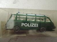 Bayern Modell Kässbohrer Setra S6 09996 Polizei in OVP aus Polizei-Sammlung (*4)