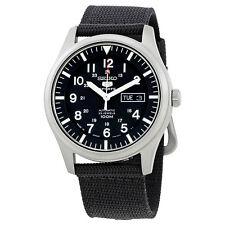 Seiko 5 Automatic Black Dial Mens Watch SNZG15J1