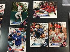 LOT OF 69 2016 TOPPS BASEBALL SNOWFLAKE CARDS TROUT Bryant Harper B3