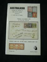 ROBSON LOWE AUCTION CATALOGUE 1978 AUSTRALASIA  'LEON' COLLECTION