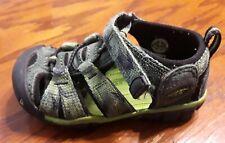 Keen Newport Ii boys infant green camo sandals size 6
