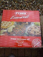 Pyrex Corning Originals 4 Piece Set Brand New!