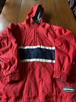 Men's Abercrombie & Fitch Performance Jacket Fleece Lined Pullover L