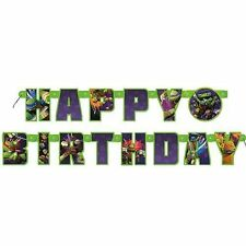 Comic Book Heroes Theme Birthday, Child Party Banner