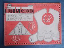 Toute la Broderie n° 118 Juillet 1963 Alphabets et monogrammes