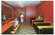 Embers Coffee Shop Jukebox Dunnville Ontario Canada postcard