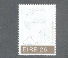 Ireland-James Joyce mnh Writer-Author(516)mnh 1982-Art