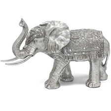 Indian Beautiful Gold Ornament Perect Elephant Gift Figurine S//M//L New Uk