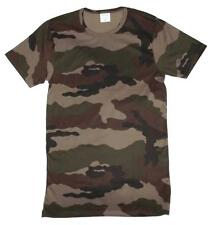 Woodland Camo T Shirt - New Unissued French Army Surplus - Medium