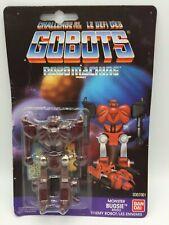 Vintage Gobots Monster Bugsie Transformer Robot MOC Sealed Euro Card Bandai 1985
