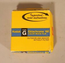 Kodak Ektachrome 160 Color 8mm Movie Film 50'  EXPIRED DATE CODE