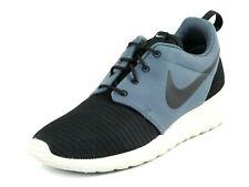 Nike Rosherun 511881 090 Mens Shoes Running Mesh Black Blue Sneakers Dead Stock
