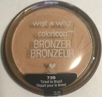 New - Wet n Wild Color Icon Bronzer SPF 15, 739 Ticket to Brazil, 0.46 Ounce