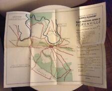 Plan de promenades autour de Florenville (55 x 41,8 cms)