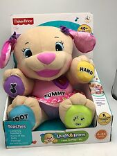 Fisher Price Laugh & Learn Love to Play Sis interactive Puppy Dog New