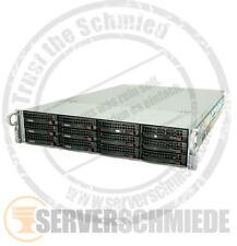 "19"" 2u Supermicro Server 12x LFF 128gb di RAM 2x Xeon e5-2640 2x 300gb VMware"