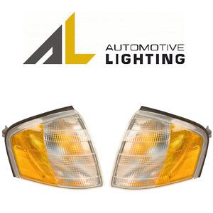 For Mercedes W202 C220 C230 C36 Set of 2 Turn Signal Assemblies Side Lens OEM