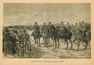 Colonie, Eritrea - Massaua, arrivo delle truppe italiane