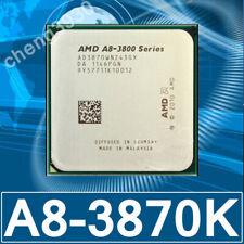 AMD A8-3870K  3GHz Quad-Core Socket FM1 CPU Processor