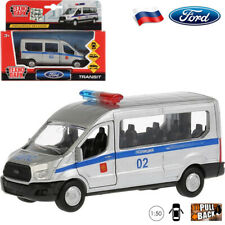 Diecast Vehicles Scale 1:50 Minibus Ford Transit Russian Police Model Car