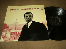 "@ YVES MONTAND 33 TOURS LP 12"" BELGIUM MON MANEGE A MOI (EDITH PIAF LEMARQUE)"