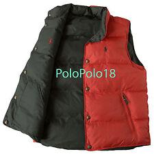 New Polo Ralph Lauren Pony Reversible Down Vest S M L
