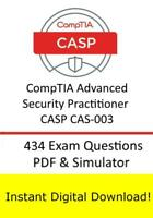 CompTIA Advanced Security Practitioner CASP CAS-003 (434q PDF Sim->Email)