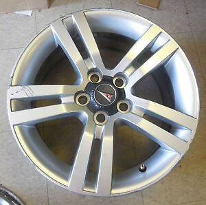"18"" 2008 09 Pontiac G8 5 Double Spoke Wheels Rims 92217685"