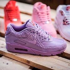 "Women Wmns Nike Air Max 90 City Pack Paris ""Treat Yourself"" Purple - UK 5.5"