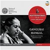 Ragas Ahir Bhairav, Adana & Yaman - April 1974, Gangubai Hangal CD | 07604528502