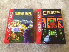 Super Fighter Team Magic Girl et cascade Mega Drive sold out Megadrive Genesis