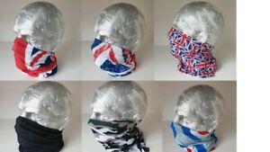 Bandana Biker Balaclava Cycling Neck Tube Scarf Snood Face Protector Multi Mask