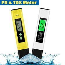 2pcs Medidor de PPM pH Digital LCD TDS EC Probador Multifuncional Pluma