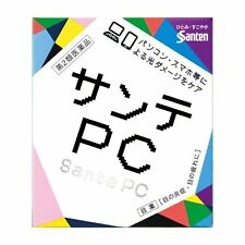 JAPAN Santen PC Eye Drops Eye Problems Caused by PC Smartphone