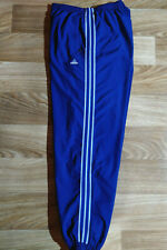 Adidas 90's Vintage Mens Tracksuit Pants Trousers Blue Hype Striped