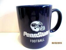 Penn State Football 8 Oz. Coffee Cup Mug Navy Blue and White
