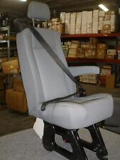 "Ford Transit OEM Seats; 16"" Gray Cloth; Single ; Armrest; w/Hdware; Universal"
