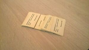 WADDINGTONS CAREERS OPPORTUNITY CARDS SET 28 BOARD GAME SPARE PART