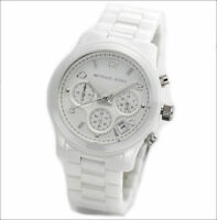 Michael Kors Ladies' Ceramic Chronograph Watch MK5161